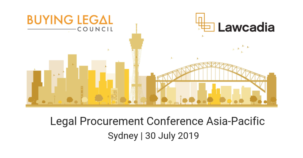 Legal Procurement Conference APAC - linkedin